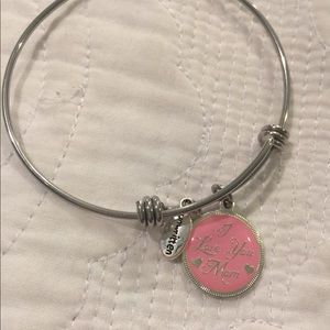 I LOVE YOU MOM ! Designer inspired Bracelet